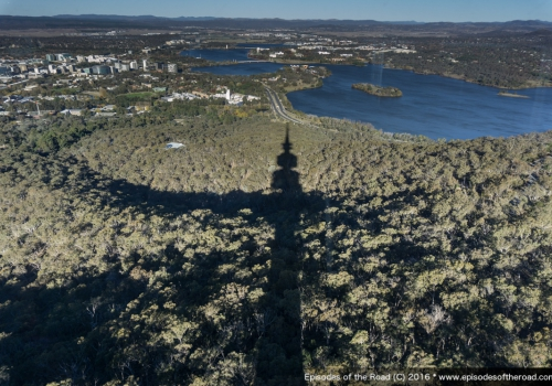 Telstra Tower & Canberra…