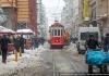 Исторический трамвай в Стамбуле